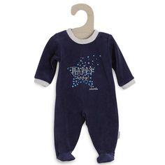 Pyjama velours 'Absorba' Bébé garçon - Kiabi - 19,00€