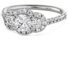 3 diamond ring designs | What is a Complete Diamond Engagement Ring? | Hearts On Fire