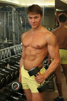 Alex Ceobanu - RippedBody Photo Gallery Big Muscles, Hot Hunks, Athletic Men, Sexy Shorts, Male Body, Beautiful Boys, Mens Fitness, Athlete, Gay