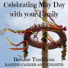 May Day or Beltane is here! Here are lots of fun easy ways to celebrate with your family and welcome in this holiday of creating.