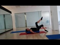 PILATES ROLLER WORKOUT - YouTube