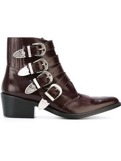 Toga buckle boots