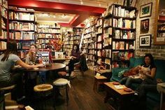 Ampersand Cafe and Bookstore - Great warmth.