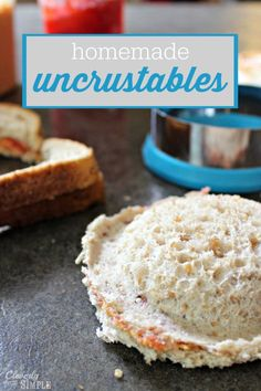 Make lunch easy with these homemade uncrustables that you can freeze for busy morning lunch prep!