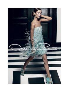 Karlie Kloss for Oscar de la Renta Spring 2012 Campaign by Craig McDean
