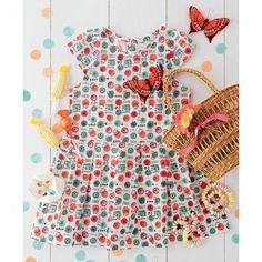 Une robe de petite fille graphique et colorée - Marie Claire Idées