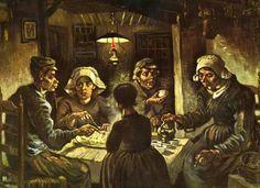 Vincent van Gogh - Aardappeleters