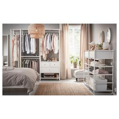 30 ikea bedroom furniture for small spaces. See some big ideas for this small-space bedroom furniture. Enjoy this ikea bedroom furniture for small room. Ikea Bedroom, Bedroom Dressers, Small Room Bedroom, Closet Bedroom, Bedroom Storage, Home Decor Bedroom, Bedroom Ideas, Small Rooms, Small Spaces