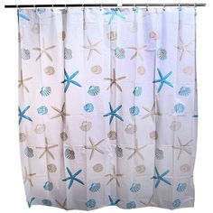 2015 New Peva Waterproof Fashion Star Bathroom Shower Curtain -Free Shipping for all to over 200 countries on Malloom.com