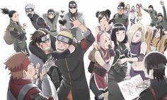 Tags: NARUTO, Haruno Sakura, Uzumaki Naruto, Sai, Rock Lee, Hatake Kakashi, Hyuuga Hinata, Nara Shikamaru, Kishimoto Masashi, Inuzuka Kiba, Tenten, Aburame Shino, Umino Iruka, Might Guy, Yamanaka Ino, Akimichi Chouji, Official Art, Hyuuga Hanabi, Sarutobi Konohamaru, Naruto The Movie: The Last