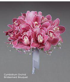 Cymbidium Orchids bouquet  Vera Wang Wedding Collection     - gorgeous!?