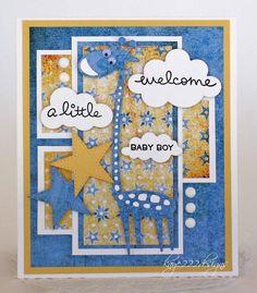 Welcom A Little Baby Boy - Scrapbook.com
