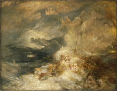 A Disaster at Sea, c. 1835 - JMW Turner