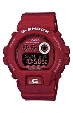 G-Shock XL Print Resin Digital Watch, 58mm x 54mm