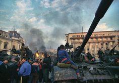 romanians square Bucharest Romania Romanian revolution 1989 revolutia romana