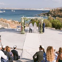 "Maria Sila on Instagram: ""Loving so much receiving the beautiful gallery of J & L wedding by @gianlucaadovasio 😍 A Jewish wedding ceremony held in an amphitheater in…"" Jewish Wedding Ceremony, Greece Wedding, Hold On, Gallery, Beautiful, Instagram, Wedding In Greece"