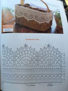 Lace Pattern Crochet Lace Edging for Towel ~~ sandragcoatti - Salva . Crochet Lace Pattern Crochet Lace Edging for Towel ~~ sandragcoatti - Salva . Crochet Shawl Diagram, Crochet Edging Patterns, Crochet Lace Edging, Crochet Borders, Crochet Chart, Filet Crochet, Crochet Doilies, Crochet Stitches, Knitting Patterns