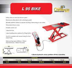 Cormach Correggio Africa Motor Bike Lift System for any business in the Motor Cycle Automotive Industry.