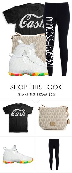 """""""*"""" by princess-kia54321 ❤ liked on Polyvore featuring MICHAEL Michael Kors and NIKE"""