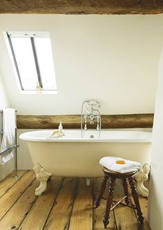 cotswold house renovation roll top bath bathroom