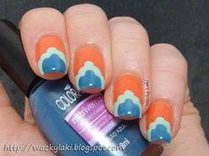 http://wackylaki.blogspot.co.uk/2012/09/fashion-friday-coral-summer-wish.html  blue mint orange nail art