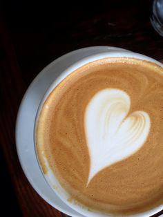 I heart a latte.