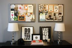 His and hers vision boards