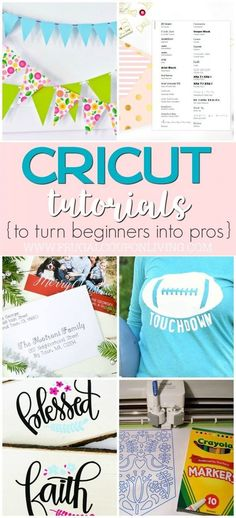 Cricut Freebies | Tutorials for Your Cricut Projects on Frugal Coupon Living. Take a look a how to upload your own images, how to monogram, how to save all your new (and old fonts), how to transfer vinyl and more.