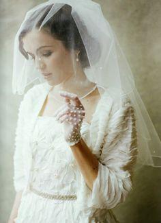 Novia con un estilo vintage para su boda - Foto: Ruche