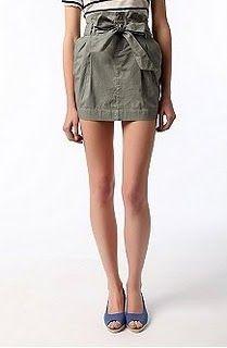 Paper Bag Waist Skirt Tutorial