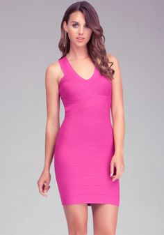 Save up to 50% off Select NEW Styles  V Neck Bandage Dress