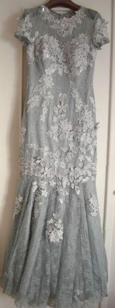 Robe de soirée prom dress abito da sera en style Elie Saab by Kouros from NY