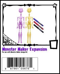 Monster Maker-Monster High Doll Checklist
