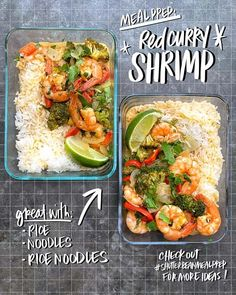 Red Curry Shrimp - Shutterbean Red Curry Shrimp, Cooking Recipes, Healthy Recipes, New Recipes, Shrimp And Broccoli, Food Dishes, Main Dishes, Sauteed Vegetables, Fish Recipes
