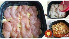 Pohodlné zapekané rezne s kyslou smotanou – výborné a pripravené za minútku: Luxusný obed a len 4 prísady! Sausage, Meat, Erika, Sausages, Chinese Sausage
