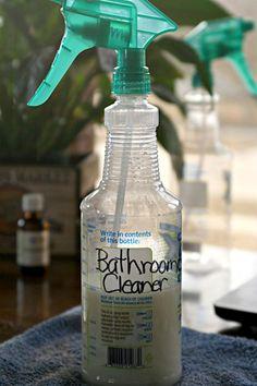 Bathroom Spray Cleaner