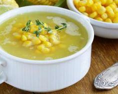 Soupe au maïs simple