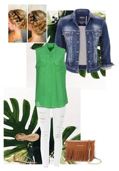 Great Green by jillianlayton on Polyvore featuring polyvore, fashion, style, Report, Equipment, maurices, Frame Denim and Rebecca Minkoff
