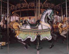 Euro Disney Scroll Carousel Horse - Joe Leonard