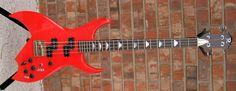 BC Rich Bich 1980's 4 string model.