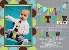 Little Man Party Birthday Party Ideas | Photo 1 of 24 | Catch My Party