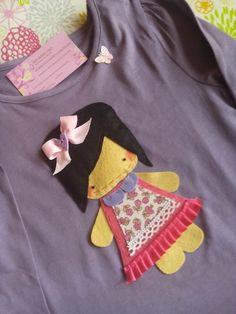 Camiseta muñequita.
