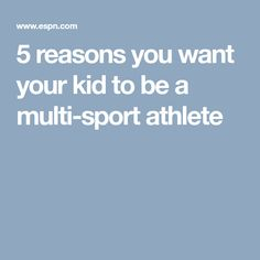 Veteran sports parent Michelle Smith offers up some practical knowledge about the pitfalls of becoming a single-sport athlete too soon. Volleyball Motivation, Want You, Athlete, How To Become, Parenting, Sports, Kids, Hs Sports, Young Children