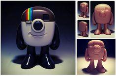 Instagram mascot as a vinyl toy