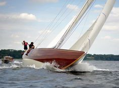 Anker 434 12m. Robbe & Berking Classics retrieved the complete set of drawings and is pleased to build this remarkable 12 Metre Class design on behalf of a Scandinavian owner committed to 12 Metre Class sailing.