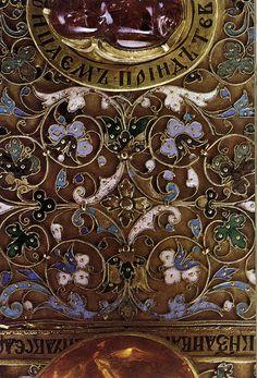 russianEnamels-Оклад Евангелия. 1571. Деталь2 | Flickr - Photo Sharing!