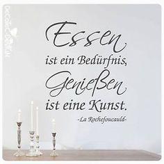 W315-Wandtattoo-Essen-ist-ein-Beduerfnis-Geniessen-eine-Kunst-Wandaufkleber-Zitat