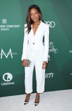 Naomie Harris attends the Variety's Power Of Women Luncheon 2016 at the Beverly Wilshire Four Seasons Hotel on October 14, 2016 in Beverly Hills, California.