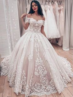 Wedding Dresses Lace Beach New Off-the-Shoulder Lace Bridal Wedding Dresses Angrila.Wedding Dresses Lace Beach New Off-the-Shoulder Lace Bridal Wedding Dresses Angrila Lace Bridal, Strapless Lace Wedding Dress, Lace Ball Gowns, Wedding Dress Train, Ball Dresses, Prom Dresses, Winter Wedding Dress Ballgown, Wedding Dress Princess, Bridesmaid Dresses