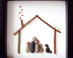 Unique Father's Day Gift Creative Family Gift por SticksnStone